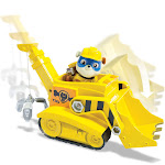 Paw Patrol Super Pup Rubble's Crane Vehicle and Figure