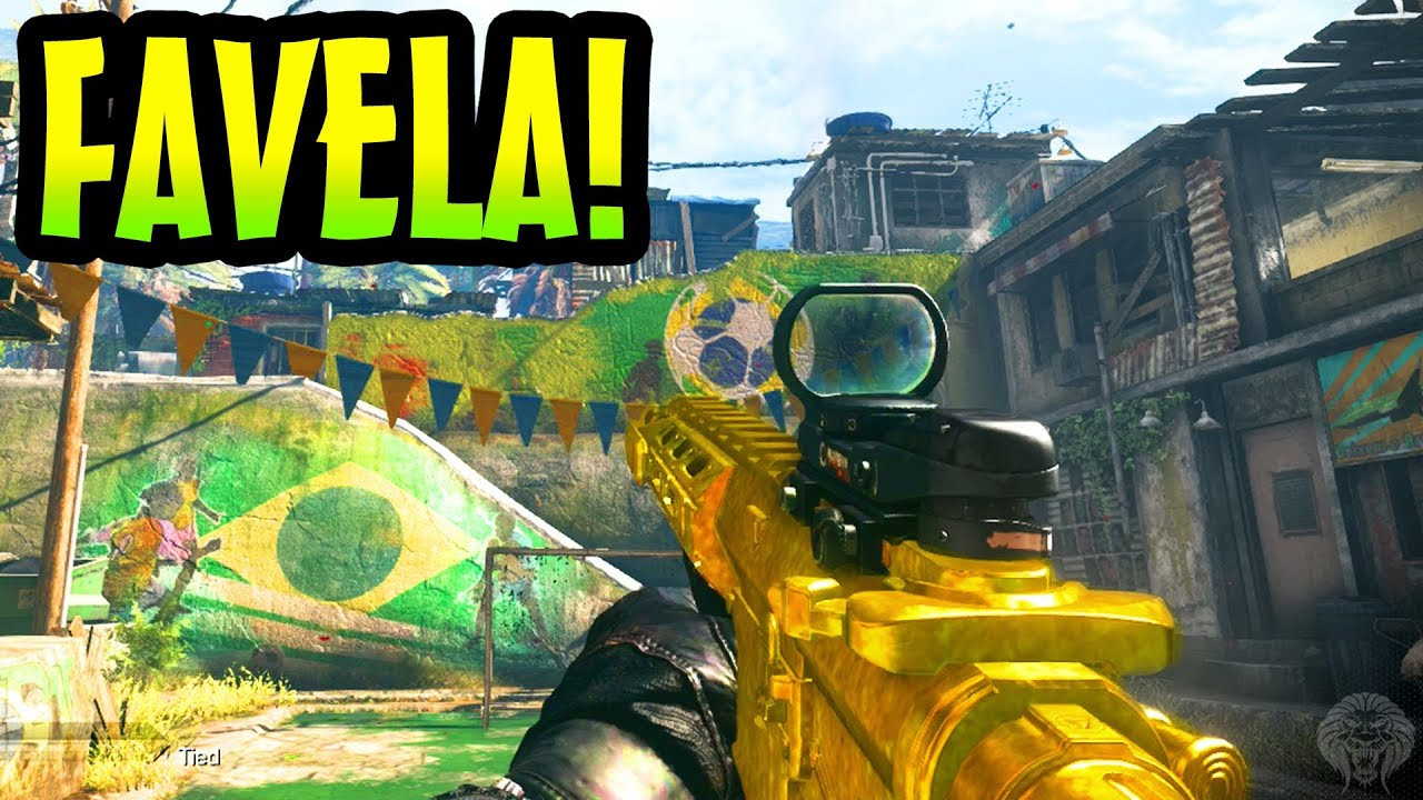 Cod Ghosts Favela Gameplay New Ac 130 Field Order