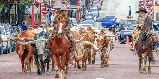 Texas's Chisholm Trail provides a true taste of the old American West