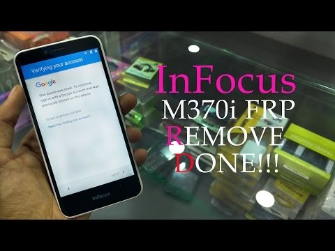 InFocus m370i FRP Lock Remove done!!!   Gmail lock bypass new 2017