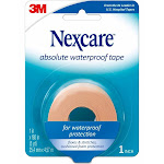 """Nexcare Absolute Waterproof First Aid Tape, 1"""""""