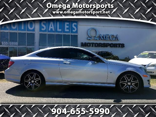 Used 2013 Mercedes-Benz C-Class C250 Coupe for Sale in Jacksonville FL 32246 Omega Motorsports