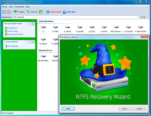 NTFS Recovery Wizard Free Download and Review