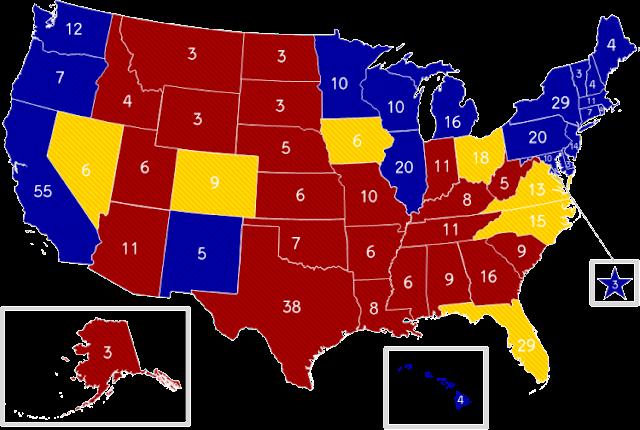 סקרים במדינות המתנדנדות בארה''ב: רומני מצמצם את הפער מהנשיא ברק אובמה