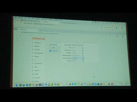 ADF 19 Demo from Oracle Open World San Francisco