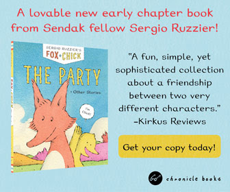 Fox & Chick: The Party and Other Stories by Sergio Ruzzier