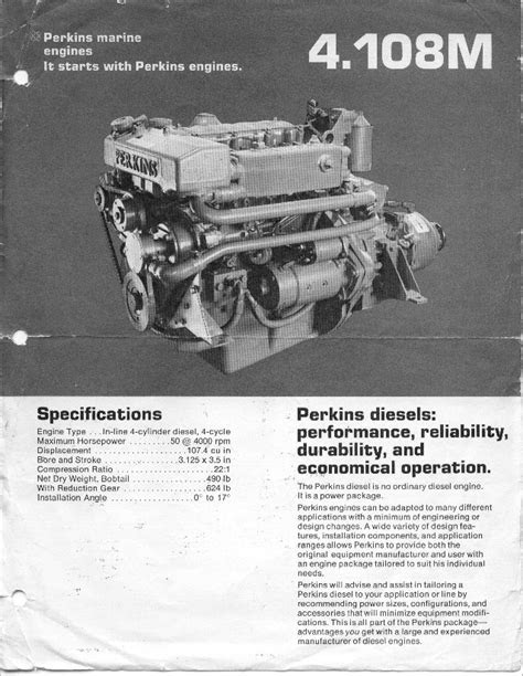 Perkins 4108 Diesel Engine EX.MOD direct sales