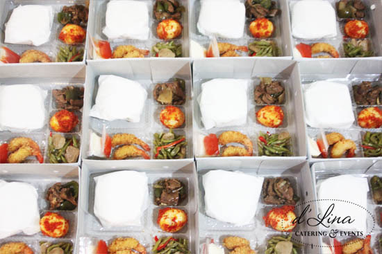 Nasi Box dLina Catering Events