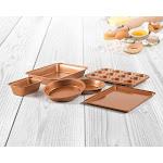 6 Piece Non Stick Copper Bakeware Set