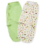 SwaddleMe Original Swaddle 2-Pack, Woodland Friends - Large