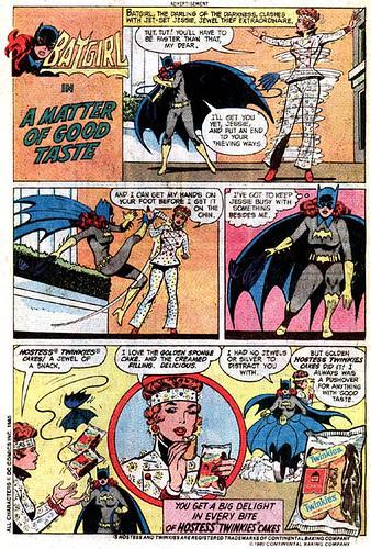batgirl hostess ad