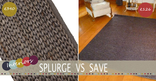 Splurge Vs Save | The Knitted Rug - Lifestyle & Parenting Blog | Life With Munchers