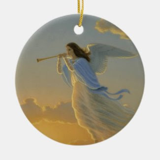 Angel of the Dawn Ornament