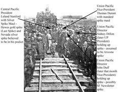 356 Last rail, last tie – Spikes and Hammers marked