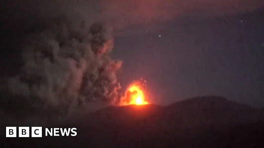 Warning over Japan's James Bond volcano