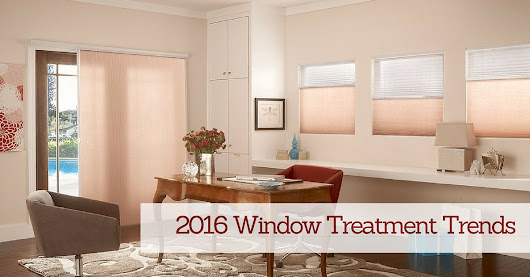 Window Treatment Trends & New Products for 2016 (Video)