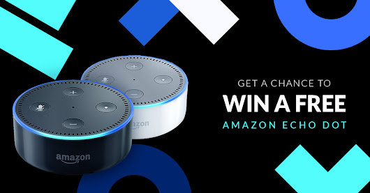 Win a FREE Amazon Echo Dot (worth $49) by entering this giveaway