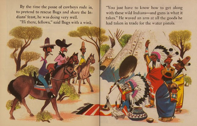 Bugs Bunny & the Indians015