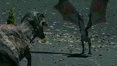 Walking with Dragons - Tyrannosaurus Hungryrex Vs Dragonus Mamma