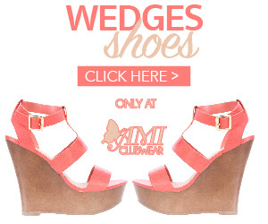 Shop AMIclubwear.com for great deals on fashionable Wedge Shoes.
