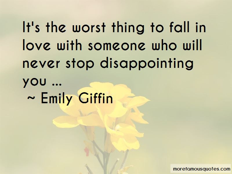 Disappointing Someone You Love Quotes Top 2 Quotes About