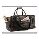 Embassy Italian Stone Design Genuine Leather Tote Bag LUL21