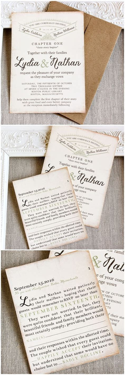 678 best Literary Wedding images on Pinterest   Wedding