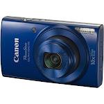Canon PowerShot ELPH 190 IS 20.0 MP Compact Digital Camera - 720p - Blue