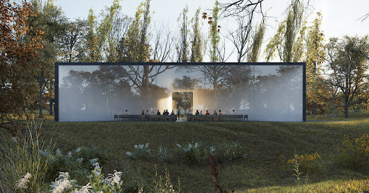 new funeral center by hofmandujardin rethinks the way we say goodbye