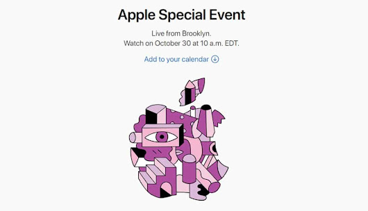 Apple Confirms October 30 for the Next Keynote