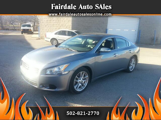 Used 2011 Nissan Maxima for Sale in Louisville KY 40214 Fairdale Auto Sales