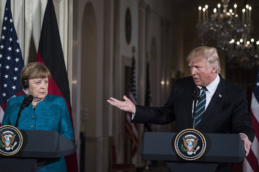 Trump says Germany owes 'vast sums' to NATO after meeting with Merkel | Toronto Star