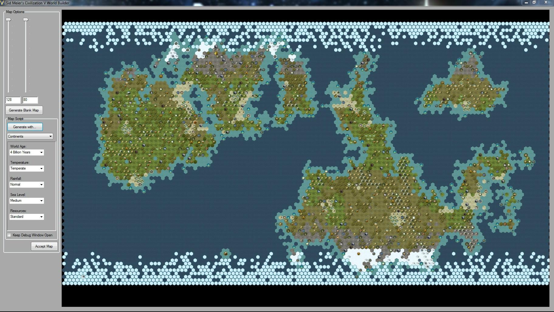 d d world map