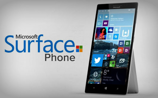 Microsoft Surface Phone: The Remarkable 'Re-Entry' In Mobile Ecosystem? - Dazeinfo