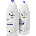 Dove Deep Moisture Nourishing Body Wash for Dry Skin - 22 fl oz