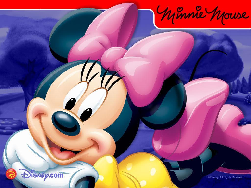 1024x ディズニー ミニーマウスpcデスクトップ壁紙画像集