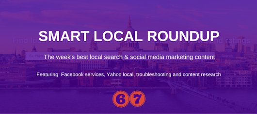 Facebook services, Yahoo local, troubleshooting and contentFacebook services, Yahoo local, troubleshooting and content