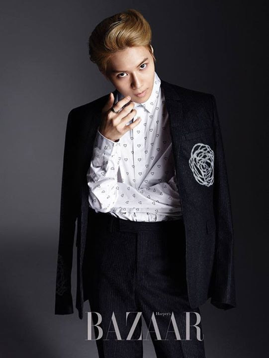 SHINee Tae Min - Harper's Bazaar Magazine September Issue '14
