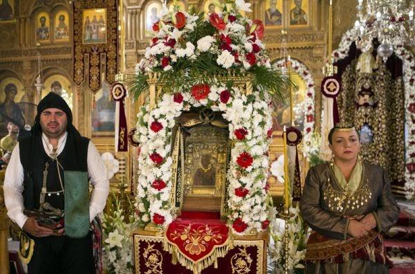 Η Εικόνα της Παναγίας Σουμελά στον Πειραιά