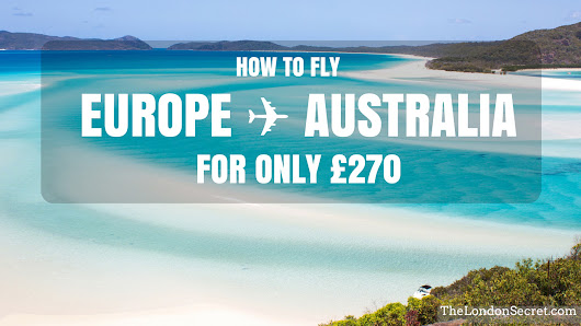 Cheap flights to Australia: £270 from Sweden