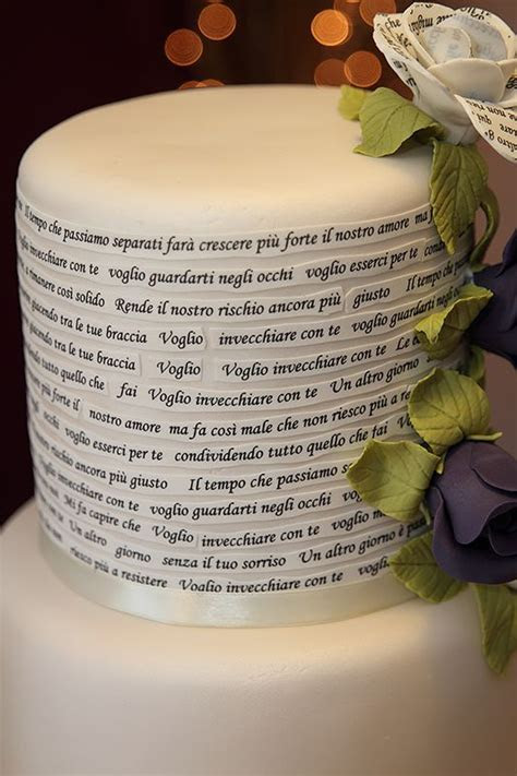 6 tier wedding cake, 3 tier wedding cake, Italian lyrics