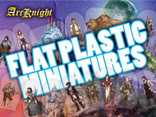 Flat Plastic Miniatures - BackerKit