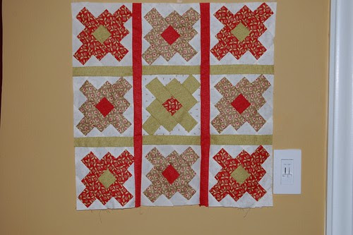 Spring Quilted Wallhanging