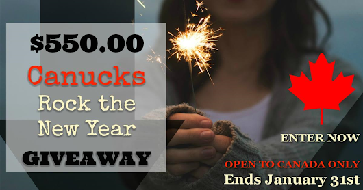 Canucks Rock the New Year Cash Giveaway - Naturally Cracked