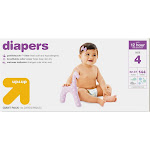 Up & Up Baby Giant Diapers, Size: 4 - 144 Count