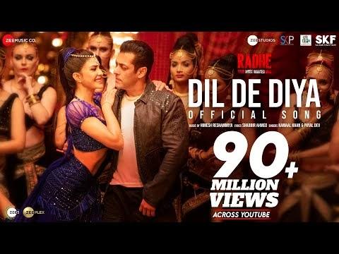 Dil De Diya | Salman Khan | Jacqueline Fernandez-RADHE