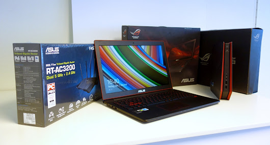 Win an awesome gaming package - ROG GR8 + ROG G501 + RT-AC3200 Router!