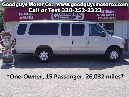 Used 2007 Ford Econoline E-350 Extended for Sale in st cloud MN 56301 Goodguys Motor Co.