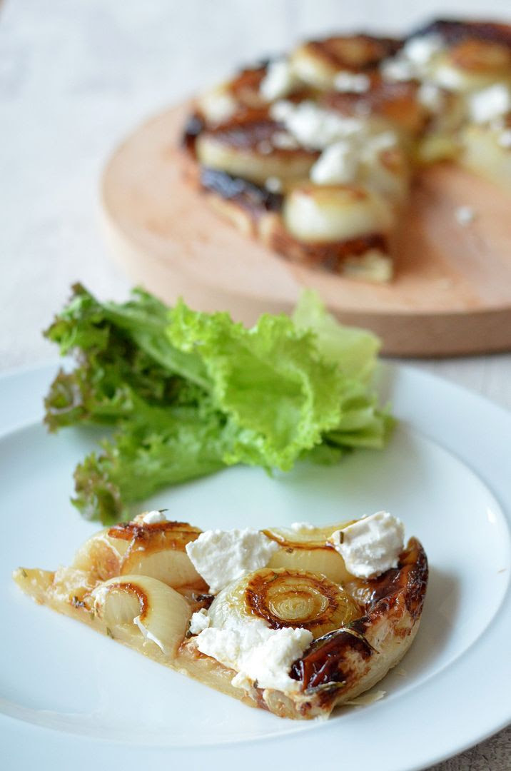 Caramelised Onion & Goats Cheese Tarte Tatin