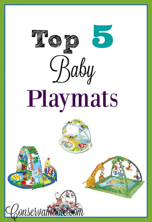 The Top 5 Baby PlayMats & Baby Mat Giveaway ends 3/14 - ConservaMom